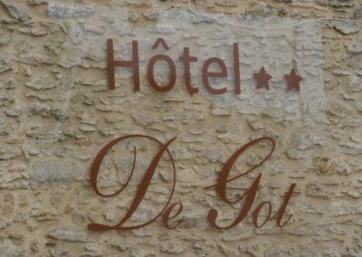 Hôtel 2 étoiles à villandraut, hôtel de got